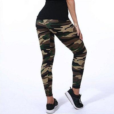 Calça Legging Camuflagem - 5 cores