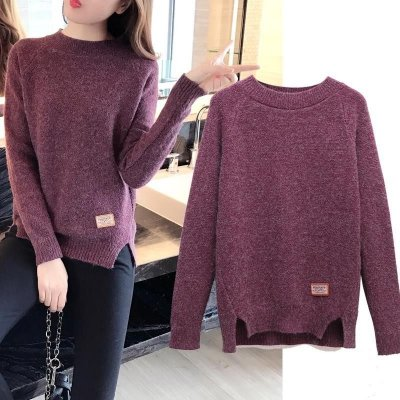 Blusa Tricô Fenda - 5 cores