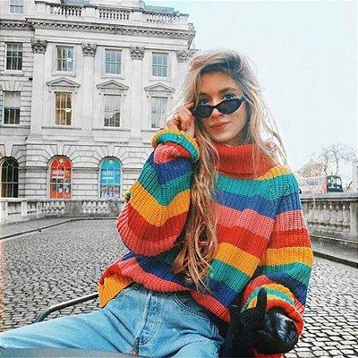 Suéter Arco-íris