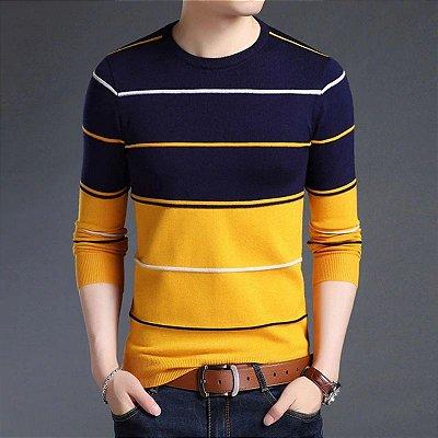 Suéter Masculino Listras - 4 cores