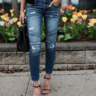 Calça Jeans Style - 2 cores