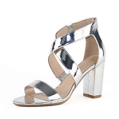 Sandália Transpassada - 2 cores