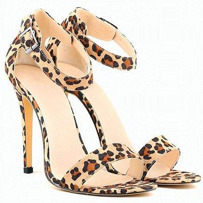 Sandália Leopard