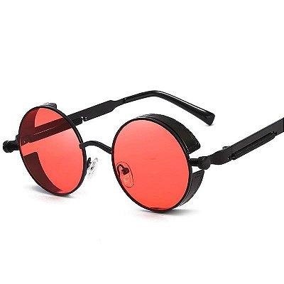 Óculos de Sol Redondo Vintage - 6 cores