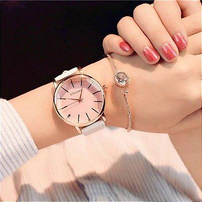 Relógio Poligonal ULZZANG - 6 cores