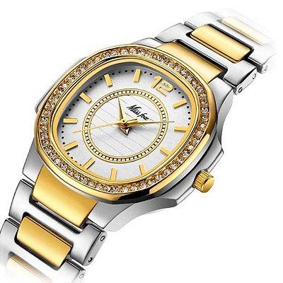 Relógio Luxo MISSFOX - 3 cores