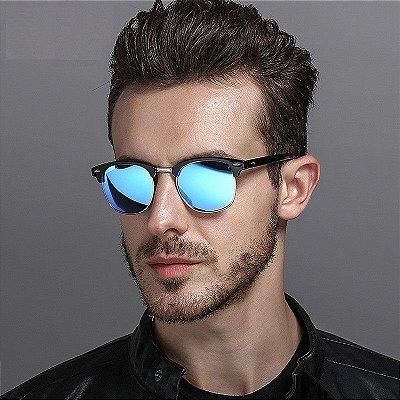 Óculos de Sol Clubmaster Clássico - 6 cores