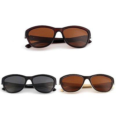 Óculos de Sol Detalhe Dourado - 3 cores