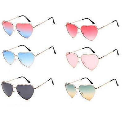 Óculos de Sol Coração - 6 cores