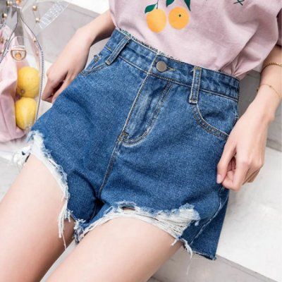 Short Jeans Destroyed - 2 cores
