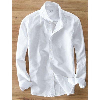 Camisa Básica Manga Longa - 5 cores