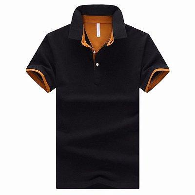 Camiseta Polo Lisa - 8 cores