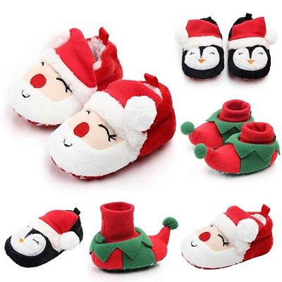 Sapatinho Natal - 3 modelos