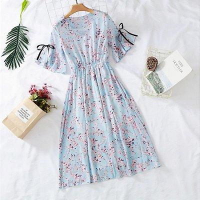 Vestido Spring Estampa Floral - 7 cores