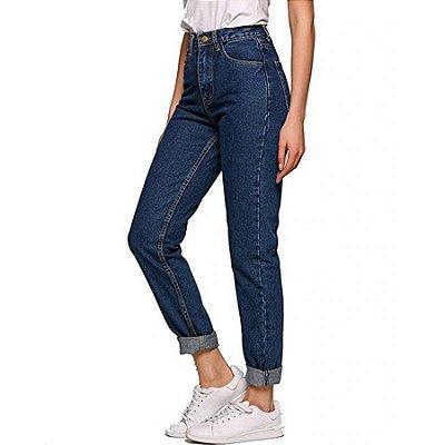 Mom Jeans Básica - 2 cores