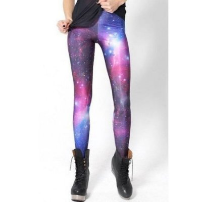 Legging Galaxy Print