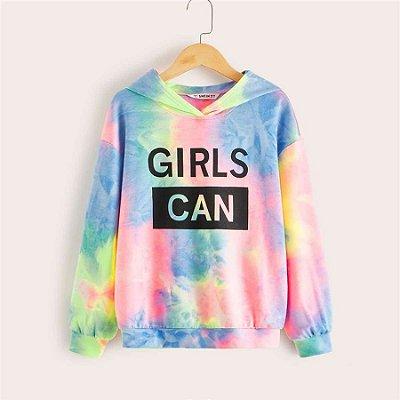 Moletom Girls Multicolor