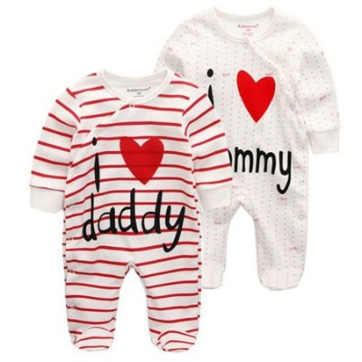 Macacão Mommy/Daddy 2 peças
