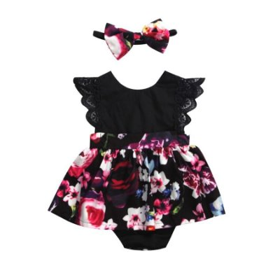 Vestido Body Flowers