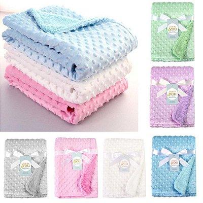 Cobertor Fofinho Baby - 6 cores