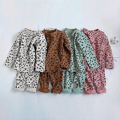 Pijama Leopard - 4 cores