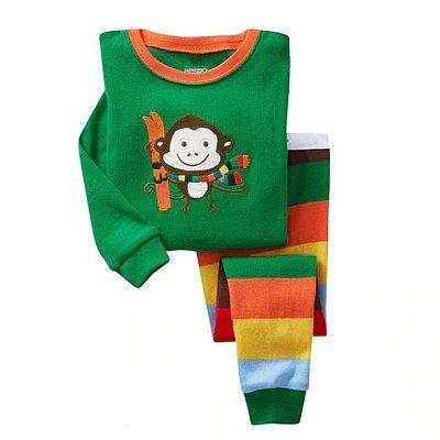 Pijama Estampa Bichinhos - 5 cores