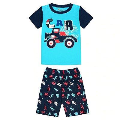 Pijama Estampado Bermuda - 3 cores