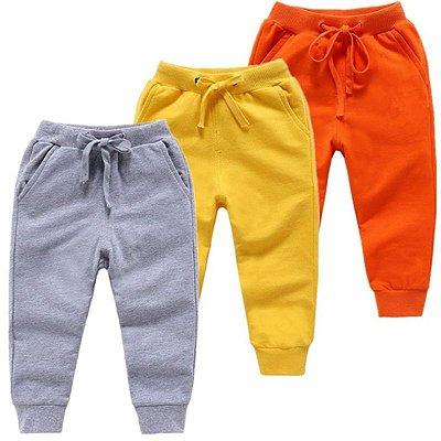 Calça Moletom Kids - 7 cores