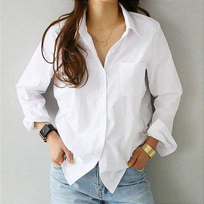 Camisa Feminina Branca