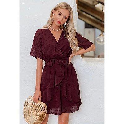 Vestido Soltinho Amarração - 7 cores