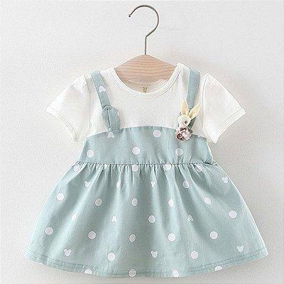 Vestido Soltinho Poá - 2 cores