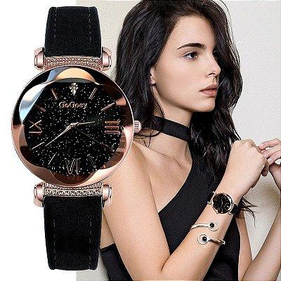 Relógio Black Galaxy - 7 cores