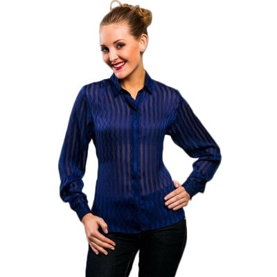 Camisa Voil Azul