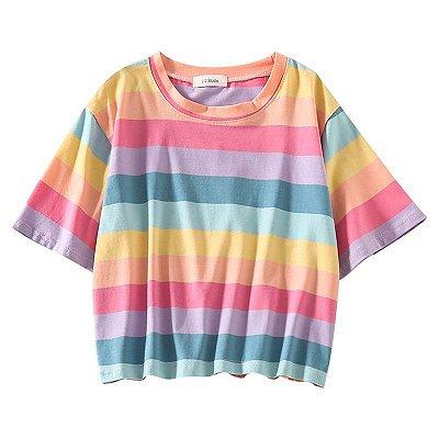 Blusa Listras Multicolor - 2 cores