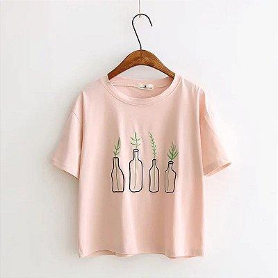 Blusa Plantinhas - 3 cores