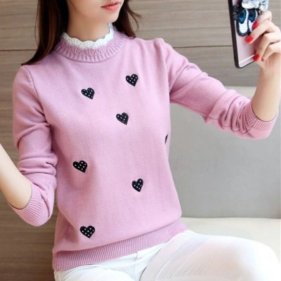 Suéter Corações - 4 cores