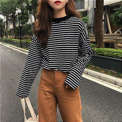 Suéter Listrado - 2 cores