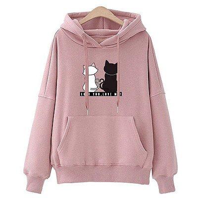 Moletom Cats Love - 5 cores