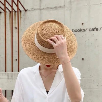 Chapéu Palha Faixa - 6 cores