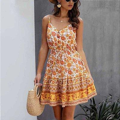 Vestido Summer Estampado - 6 cores