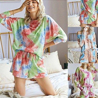 Conjunto Tie Dye - 3 cores