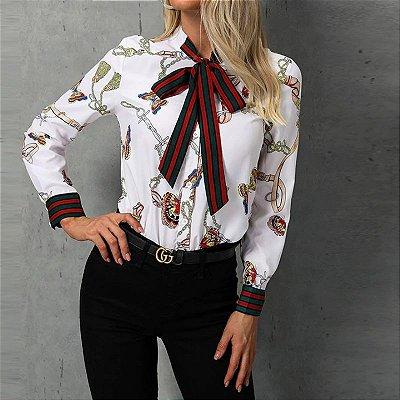Camisa Feminina Butterfly