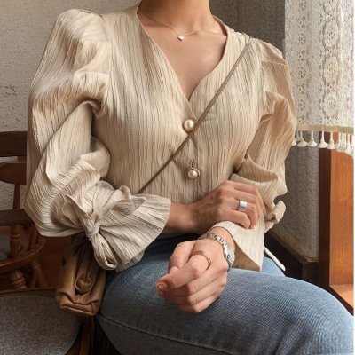 Camisa Vintage Chic - 4 cores