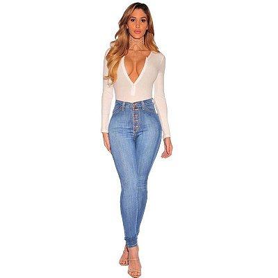 Calça Jeans Cós Alto Blues - 2 cores