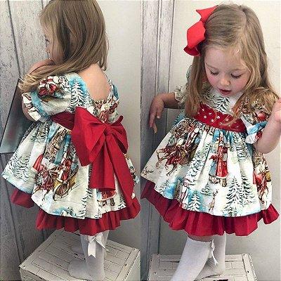 Vestido Christmas Baby Girl