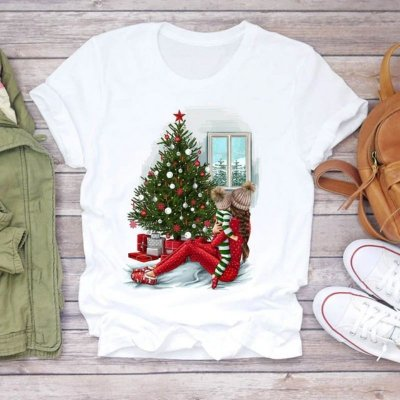 T-shirt Christmas - 5 cores