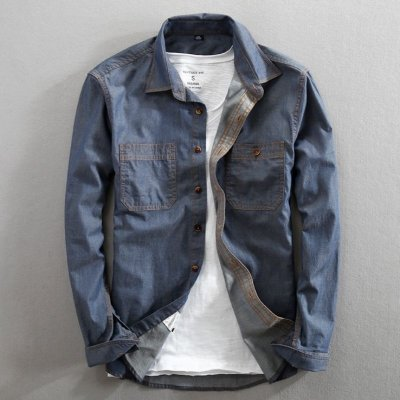 Camisa Jeans Style - 3 cores
