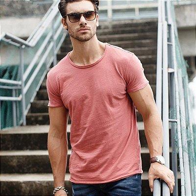 Camiseta Masculina Algodão - 9 cores