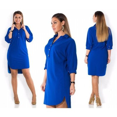 Vestido Camisetão Plus Size - 4 cores