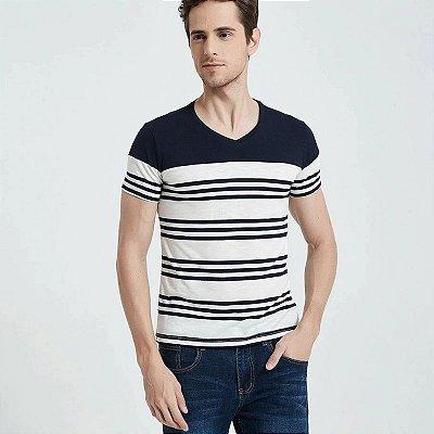 Camiseta Estampa Listrada - 5 cores